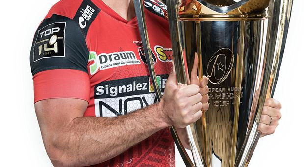Mission improbable: Oyonnax captain Florian Denos is hoping to find a much needed spark on the park for the underdogs