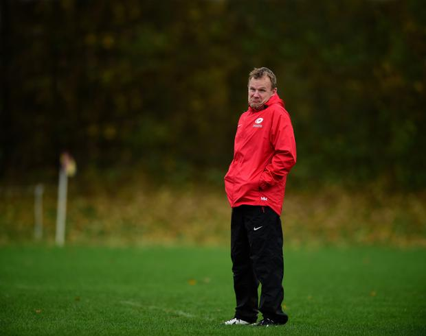 Familiar face: Sarries boss Mark McCall is a former player and head coach of Ulster