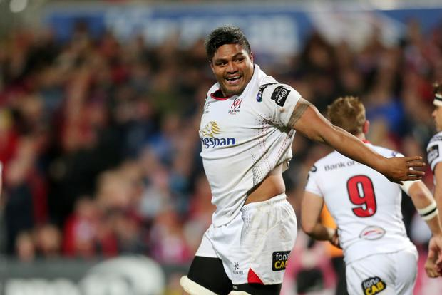 In the air: Nick Williams' Ulster contract expires at the end of the season but he wants to stay