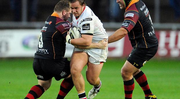 Big breakthrough: Kyle McCall has impressed after getting his chance in the Ulster side