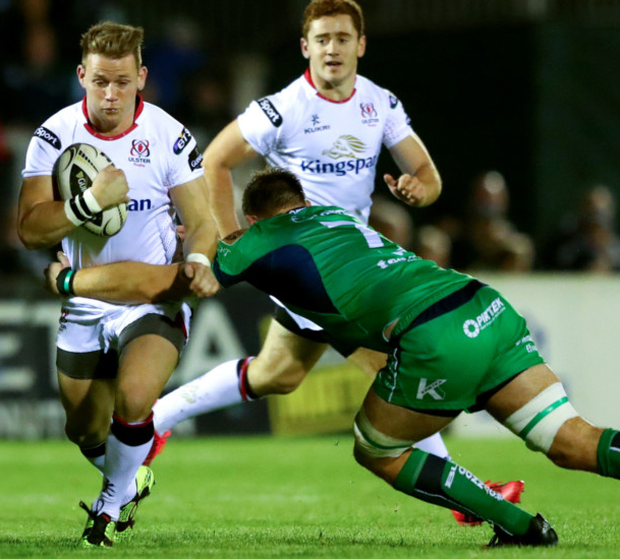 Moving forward: Craig Gilroy believes Ulster have what it takes to make a big impact in European competition this season