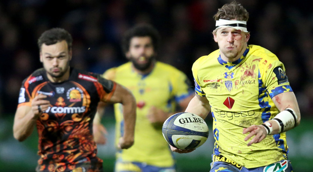 Class act: David Strettle is just one of an array of Clermont dangermen who can damage Ulster today