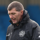 Up for it: Rob Baxter wants to give Chiefs fans a home win