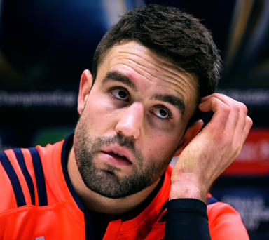 All good: Conor Murray insists he followed protocols after a blow to the head