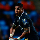 Main man: Nathan Hughes led Wasps' assault on Harlequins