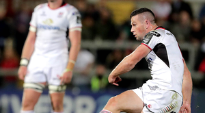 Putting the boot in: John Cooney knows the festive period will be crucial in how Ulster's season takes shape