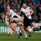 Striding on: Ross Kane has impressed after seizing his chance for Ulster this season, despite an early injury setback