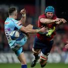 High hopes: Munster's Tadhg Beirne has his sights set on place in European Champions Cup final