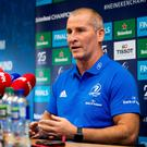 Been there: Stuart Lancaster sympathises with Ireland