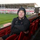 Aiming high: Rob Lyttle at Kingspan Stadium