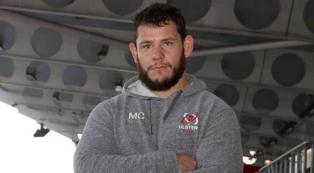 No nonsense: Marcell Coetzee at Kingspan Stadium ahead of Ulster's clash with Clermont Auvergne