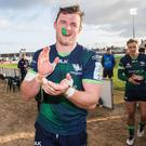 All set: Eoghan Masterson is ready for Toulouse challenge