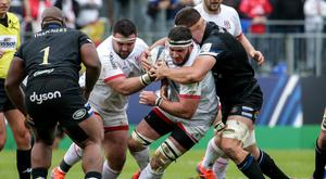 Leading light: Marcell Coetzee has continued to be a stirring influence in the Ulster line-up