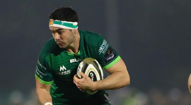 Fired up: Connacht's Paul Boyle is relishing challenge