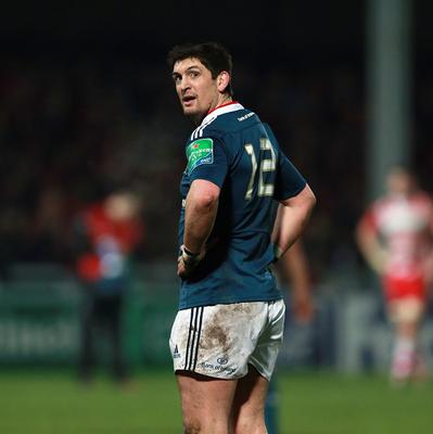 Munster's James Downey scored a try in the win against Ospreys
