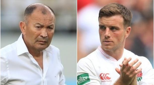 Judgement day has arrived for England coach Eddie Jones and fly-half George Ford (PA)