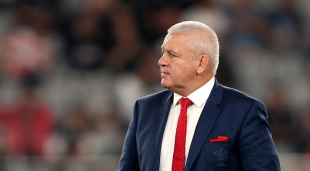 Warren Gatland's time as coach is over (David Davies/PA)