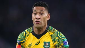 Israel Folau has been found guilty at his code of conduct hearing (Adam Davy/PA)