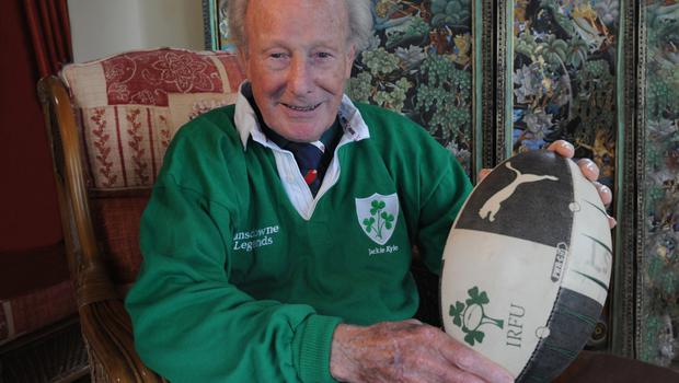 Green giant: Jack Kyle's love affair with rugby never ended