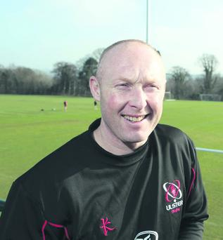 Ulster assistant coach, Neil Doak