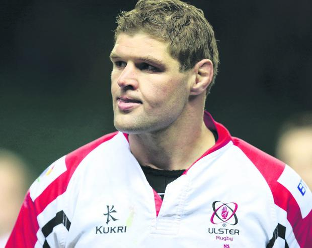 Johann Muller was injured two weeks ago against Saracens