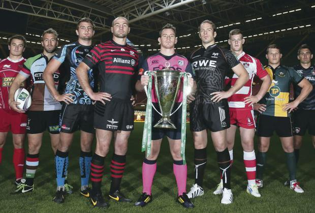 Keeping focus: English and Welsh clubs will be hoping for success in the Heineken Cup despite curent off-pitch problems