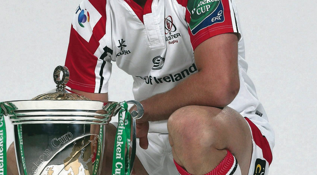 Eyes on prize: Ulster captain Johann Muller wants to get his hands on the Heineken Cup