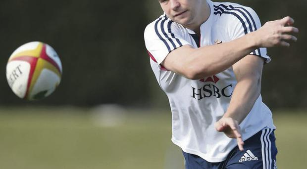 Class act: England and Lions ace Ben Youngs is one of the Leicester Tigers players that Ulster coach Mark Anscombe admires