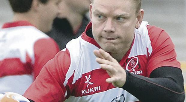Loose talk: Tom Court focused on ensuring big performances from Ulster in this year's Heineken Cup