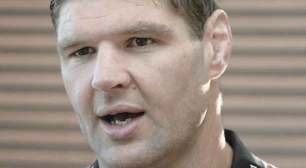 Captain speaking: Johann Muller addresses Ulster press conference ahead of Saturday's trip to Montpellier
