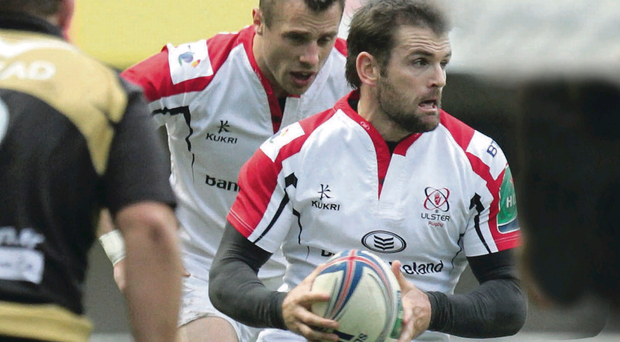 In form: Jared Payne had a big part to play in Ulster's win over Montpellier at the weekend