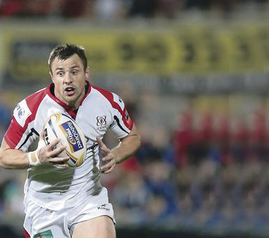 Torn leg muscle is Tommy Bowe's latest injury since rejoining Ulster in summer 2012