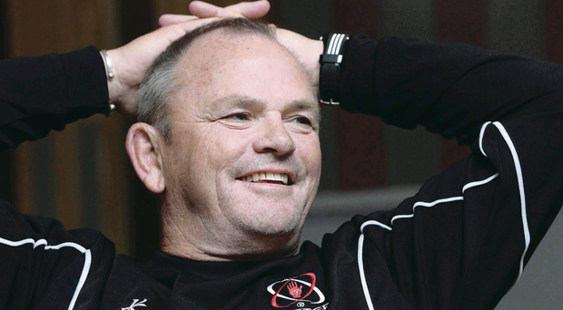Mark Anscombe has led Ulster to four wins out of four in the Heineken Cup
