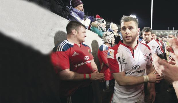 Darren Cave playing as well as ever and looking for another big performance for Ulster at Ravenhill tonight