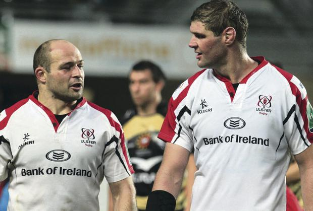 Rory Best and Johann Muller return to the Ulster side for tonight's Heinken Cup clash against Montpellier