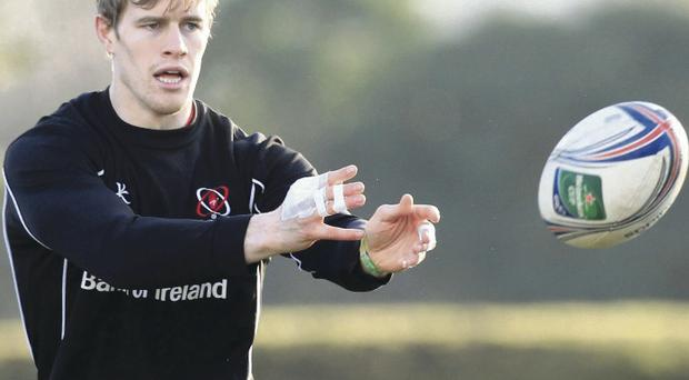 Andrew Trimble becomes Ulster's most-capped player in Heineken Cup history tonight