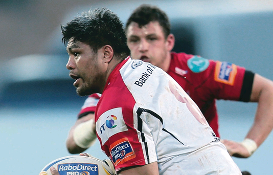 Ulster's Nick Williams is hoping to recapture his form of last season, starting in Saturday's big showdown away to Leicester