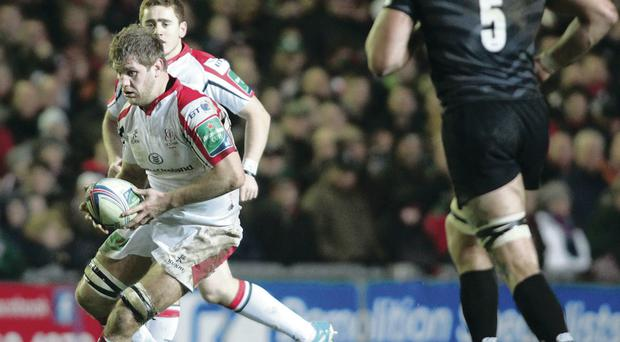 Chris Henry is one of several key Ulster players now with the Ireland squad