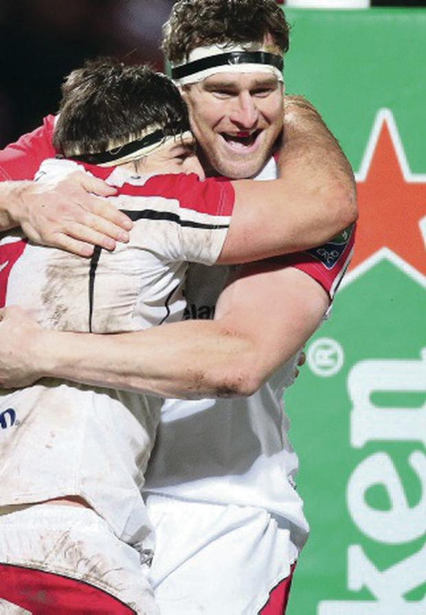 Cup of joy: Ulster have enjoyed their Heineken Cup experience