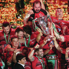 Europe's finest: Toulon, one of Ulster's future group rivals, lift the 2014 Heineken Cup