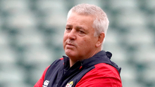 Old face: Warren Gatland will take charge for a third series