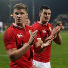 Owen Farrell and Johnny Sexton both started the second test