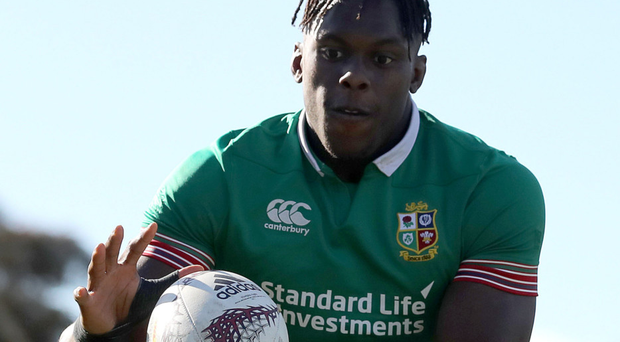 In hand: Maro Itoje says the Lions won't drop the ball this time