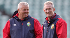 Under fire: Sean O'Brien slammed Lions boss Warren Gatland, but had extra criticism for attack coach Rob Howley