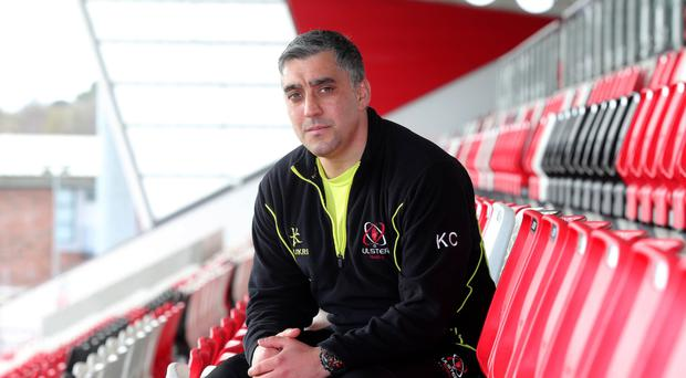 Keeping the faith: Ulster 'A' head coach Kieran Campbell has the belief that his side can cause an upset against Leinster