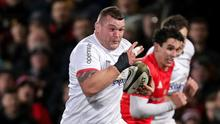 Jack McGrath has made 10 appearances so far for Ulster.