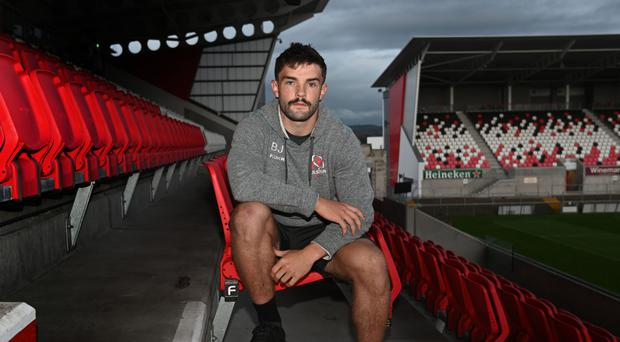 Old stomping ground: Ulster's Bill Johnston