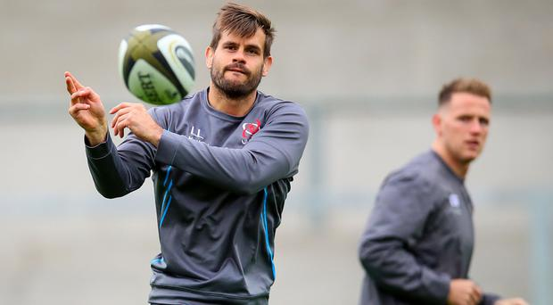 Going strong: Louis Ludik says Ulster's rising stars have infectious enthusiasm