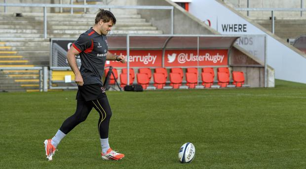 New role: Louis Ludik moves from full back to the right wing in the Ulster team tonight
