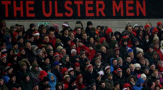 Unhappy: Unrest amongst Ulster fans is evident online